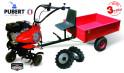 PUBERT SET1 kultivátor s vozíkem VARIO P