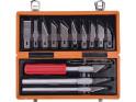 Extol craft - nože na vyřezávání, 14ks