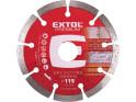 Extol Premium 108711 kotouč diamantový řezný segmentový, 115x22,2 mm