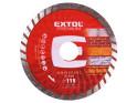 Extol Premium 108751 kotouč diamantový řezný turbo, 115x22,2 mm
