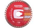Extol Premium 108752 kotouč diamantový řezný turbo, 125x22,2 mm