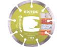 Extol Craft 108811 diamantový kotouč řezný segmentový 115x22,2 mm