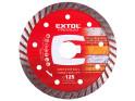Extol Premium 108952 kotouč diamantový řezný turbo Long Life 125x22,2 mm