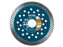 Extol Industrial - 115x22,2 mm, koutouč diamantový řezný turbo Fast Cut, suché i mokré řezání, 8703051