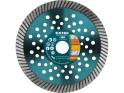 Extol Industrial - 150x22,2 mm, koutouč diamantový řezný turbo Fast Cut, suché i mokré řezání, 8703053