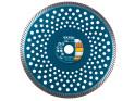 Extol Industrial - 230x22,2 mm, koutouč diamantový řezný turbo Fast Cut, suché i mokré řezání, 8703055