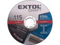 Extol Craft 106901 kotouče řezné na kov 115x1,0x22,2 mm, 5ks