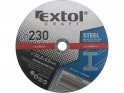 Extol Craft 108050 kotouče řezné na kov 230x2,5x22,2 mm, 5ks