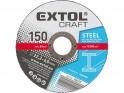 Extol Craft 108220 kotouče brusné na kov, 125x6,0x22,2 mm, 5ks