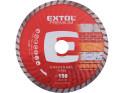 Extol Premium 108753 kotouč diamantový řezný turbo, 150x22,2 mm