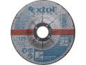 Extol Premium 8808702 kotouč brusný na ocel, 125x6,0x22,2 mm