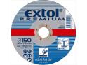 Extol Premium 8808705 kotouč brusný na ocel, 150x6,0x22,2 mm
