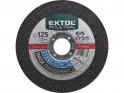 Extol Industrial 8701012 kotouč řezný na ocel nerez 125x1,5x22,2 mm
