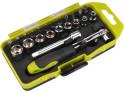 Extol Craft 53090 ráčnový šroubovák, set 23 ks