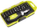 Extol Craft 53092 ráčnový šroubovák, set 38 ks