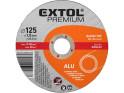 Extol Premium 8808402 kotouč řezný na Alu, 125x1,0x22,2 mm