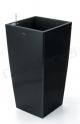 Samozavlažovací květináč G21 Linea černý 39cm