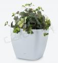 Samozavlažovací květináč G21 Cube maxi bílý 45cm