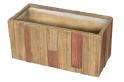 Květináč G21 Wood Box 79x37x37cm