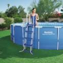 Schůdky do bazénu s výškou 122 cm - bezpečnostní