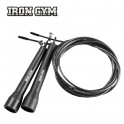 Gymnastické švihadlo IRON GYM Wire Speed Rope
