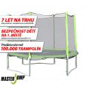 Trampolína MASTERJUMP 305 cm s vnější sítí