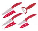 BANQUET Sada keramických nožů GOURMET CERAMIA Rossa, 4 ks