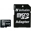 MicroSDHC 16GB CL10 44082 VERBATIM