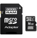 MicroSDHC 16GB CL10 UHS1 + adap. GOODRAM
