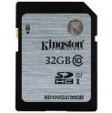 SDHC 32GB CL10 UHS-I KINGSTON