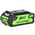 GW 4020 - 40 V lithium iontová baterie 2 Ah