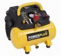 PowerPlus POWX1721 - Kompresor bezolejový