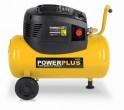 PowerPlus POWX1730 - Kompresor bezolejový + přísl.