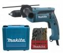 Makita HP1641K1X příklepová vrtačka s kufrem, rychlosklíčidlo