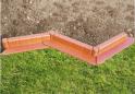 Zahradní obrubník - terakota