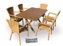 AXEL SET 6-AL stolová sestava