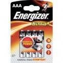 BAT ULTRA+ ALK LR03/4 4xAAA ENERGIZER