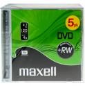 DVD+RW 4,7GB 4x 5PK JC 275526 MAXELL