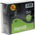 DVD+R 4,7GB 16x 10PK SC 275631 MAXELL
