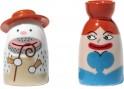 Porcelánové figurky Salvatore a La Signora Acqua, Alessi