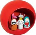 Porcelánový betlém Presepe červený, Alessi