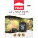 MicroSDHC 8GB CL10 + adpt 854716 MAXELL