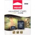 MicroSDHC 32GB CL10 + adpt 854718 MAXELL