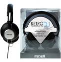 303516 RETRO DJ BLACK SLUCHÁTKA MAXELL