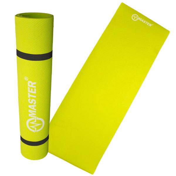 Podložka na cvičení MASTER Yoga EVA 4 mm - 173 x 60 cm - zelená