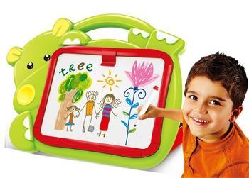 Hračka G21 Kreslící tabulka 2v1 hrošík