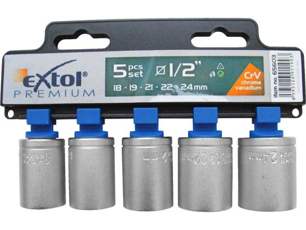 Extol Premium 65603 nástrčné klíče 5 ks