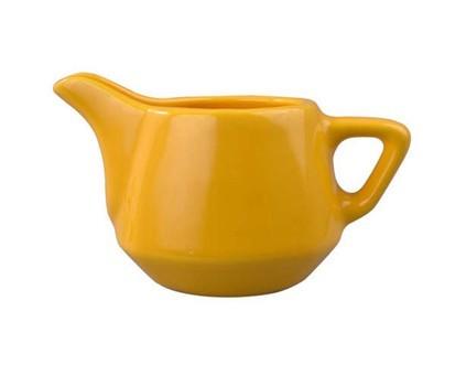 Mléčenka keramická square 230 ml, žlutá