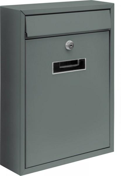 Poštovní schránka 300x260x80mm šedá