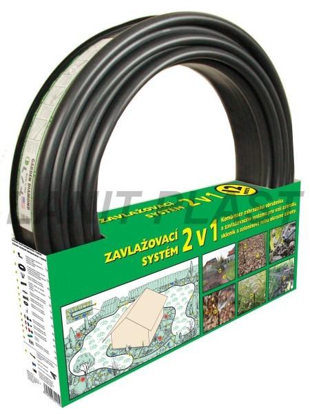 LanitPlast zavlažovací obrubník GARDEN DIAMOND 12 m černý